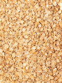 Lamination barley background. food for horse and farm animal — Stock Photo
