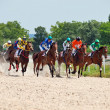 Stock Photo: PYATIGORSK,RUSSIA - JULY 7: race for the Big prize OaKS on July