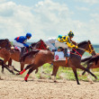PYATIGORSK,RUSSIA - JULY 7: race for the Big prize OaKS on July — Stock Photo