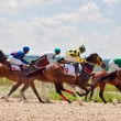 Stock Photo: PYATIGORSK,RUSSI- JULY 7: race for Big prize OaKS on July