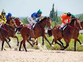 PYATIGORSK,RUSSIA - JULY 7: race for the Big prize OaKS on July — Foto de Stock