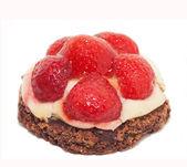 Fresh Berry cupcakes — Stock Photo