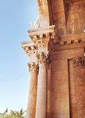 Details of  Church of All Nations or Basilica of the Agony, is a — Stock Photo