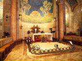 Interior of The Church of All Nations or Basilica of the Agony,  — Stock Photo