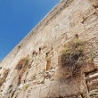The wailing wall in Jerusalem city, Israel — Stock Photo