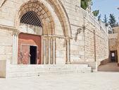 Graven av Maria, Jesu mor. Jerusalem, israel. — Stockfoto