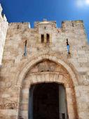 エルサレム古い市でヤッファ門 — ストック写真