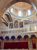Interior of Church of the Holy Sepulchre — Stock Photo