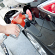 Filling up the tank — Stock Photo