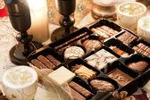 Jul bord inredning — Stockfoto