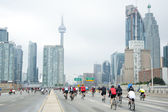 Ride for Heart in Toronto - June 2, 2013 — Stock Photo