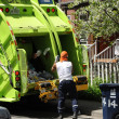 Stock Photo: Garbage collection