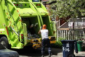 Garbage collection — Stock Photo