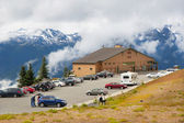 Visitor Centre at Hurricane Ridge — Stock Photo