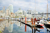 Granville Island in Vancouver — Stock Photo