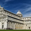 Cathedral and Leaning Tower of Pisa — Stock Photo #13672510