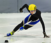 Speed Skating — Stock Photo