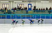 Speed Skating — Stock Photo