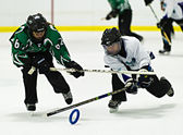Ringette — Stock Photo