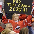 Stock Photo: IIHF Women's World Championship Gold Medal match - Canada V USA