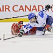 IIHF Women&#039;s World Championship Bronze Medal Game - Russia V Finland - Stock Photo