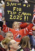 IIHF Women's World Championship Gold Medal match - Canada V USA — Foto Stock