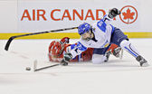 IIHF Women's World Championship Bronze Medal Game - Russia V Finland — Stock Photo