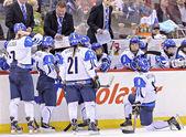IIHF Women's World Championship Bronze Medal Game - Russia V Finland — Foto Stock