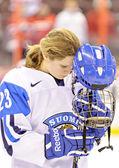 IIHF Women's World Championship Bronze Medal Game - Russia V Finland — Stock Photo