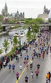 2013 ottawa marathon — Stockfoto