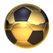 Soccer ball, loopable - Stock Photo