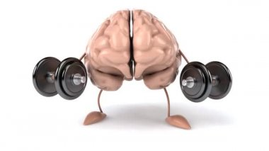 Strong brain — Stock Video #12681607