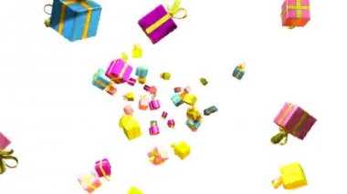 Loopable gifts — Stock Video