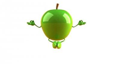 Zen apple — Stock Video