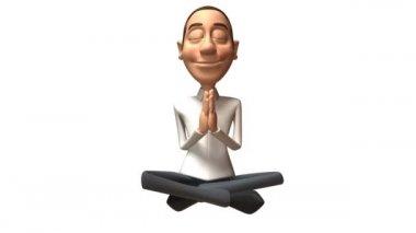 Zen guy — Stock Video