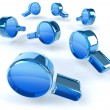 3d finding icon. Vector illustration. - Stock Photo