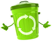 Big trash bin — Stock Photo