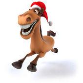 Horse santa — Stock Photo