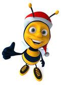 Santa pszczoła — Zdjęcie stockowe