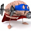 Super Brain — Stock Photo #13387247