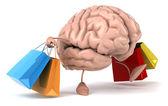 Cerebro de compras — Foto de Stock