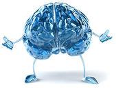 Blue brain — Stock Photo