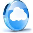 Cloud icon — Stock Photo #13662146