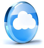 云形图标 — 图库照片