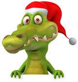 Fun crocodile — Stock Photo