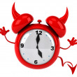 Evil alarm clock — Stock Photo #14230983