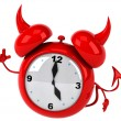Evil alarm clock — Stock Photo #14231001
