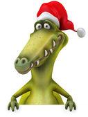 Zábava krokodýl — Stock fotografie