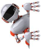 Robot 3d — Stock Photo