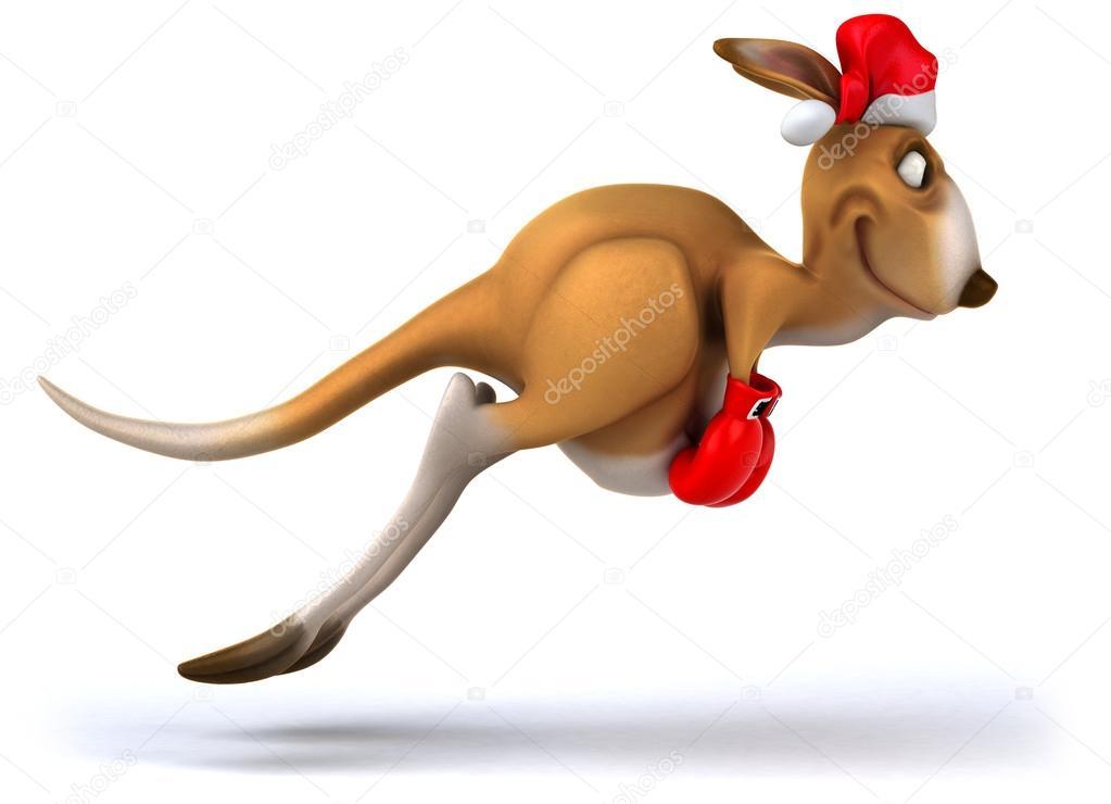 Kangaroo Christmas Decorations